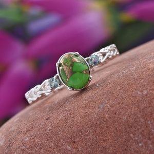 Jewelry - Mojave Green Turquoise, Madagascar Paraiba Apatite